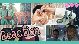 Me! Taylor Swift ft Brendon urie of panic | music video reaction |