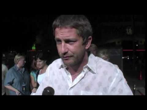 Gerard Butler Interview - Burns, Beowulf, and His Fans