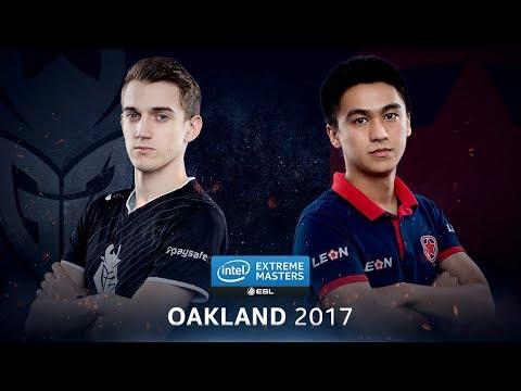 CS:GO - G2 vs. Gambit [Overpass] - Group B Round 3 - IEM Oakland 2017