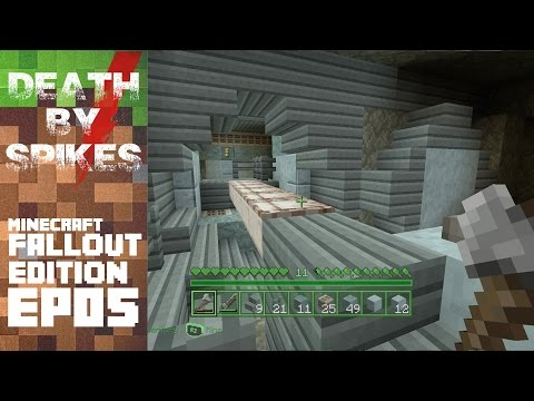 Deeper Into the Vault! Minecraft Fallout Mash-Up EP05