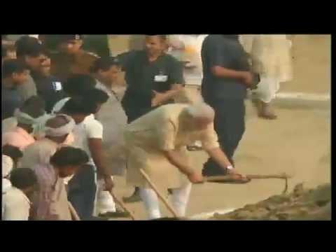 PM in Varanasi: Assi Ghat - Ganga River