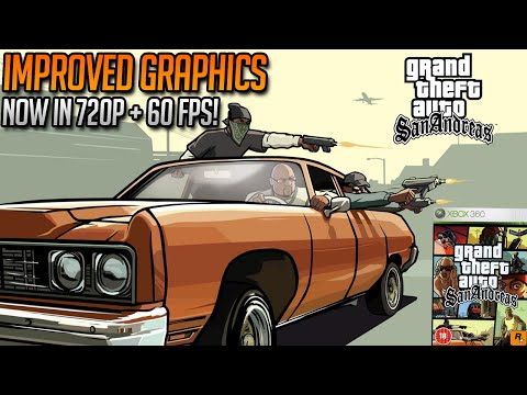 GTA San Andreas REMASTERED Confirmed for Re Release With Improved Graphics 720p 60 FPS on Xbox 360