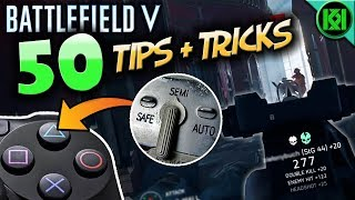 Battlefield 5: 50 TIPS, TRICKS + TACTICS to Improve and Win More | Battlefield V Gameplay (BF5 PS4)