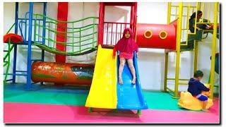 WOW❗Bermain Perosotan, Naik Odong Odong Sepuasnya GRATIS GAK BAYAR Di Indoor Playground For Kids