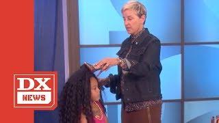 Watch Ellen DeGeneres' Spin On Nicki Minaj & Cardi B Shoe-Throwing Fight