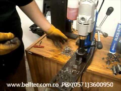 Base magnetica para taladro