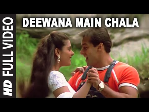 Deewana Main Chala Full Song | Pyar Kiya To Darna Kya | Salman...