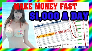 How To Make Money Online Fast - Work From Home Jobs $1,000 Per Day
