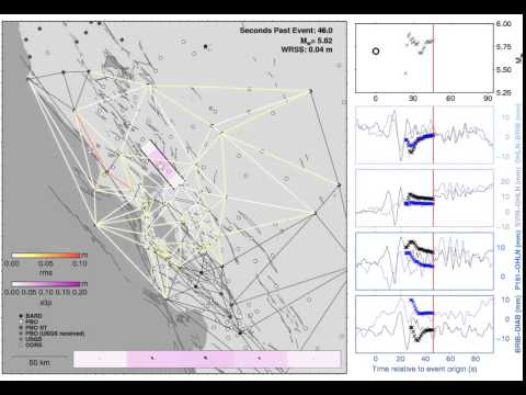 2014 M6.0 South Napa Earthquake real-time GPS-based magnitude estimation