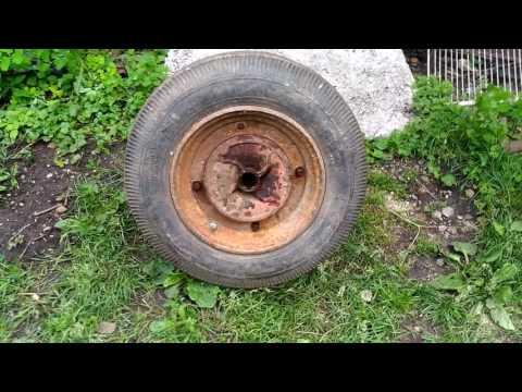 Способ установки колеса от Запорожца своими руками на мотоблок Салют с двигателем 9,0 л.с Lifan