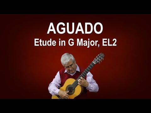 Dionisio Aguado - Study In G