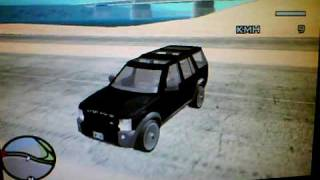 Land Rover Discovery 3 off road on gta Sa
