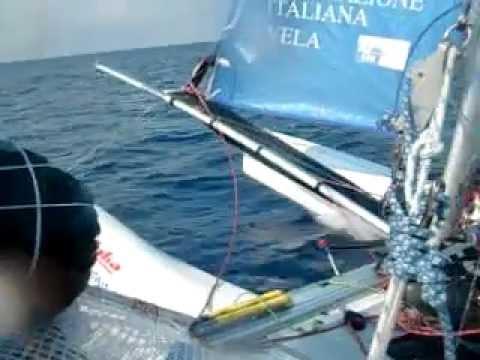 puntiroli oscar dudek pavol giro d'Italia 2011 catamarano mattia esse sport 18 real sailing italia 2