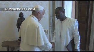 El embajador de Senegal presenta sus cartas credenciales al Papa Francisco