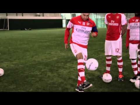 Alex Oxlade-Chamberlain Ball Tricks
