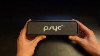 Sumvision Psyc Monic Bluetooth Review - The BEST portable speaker ever! - By TotallydubbedHD