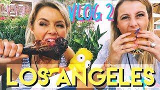 LOS ANGELES Vlog 2 💃Everyday is Cheatday 😜 ☀Happy Birthday 🎉  Sunny in LA