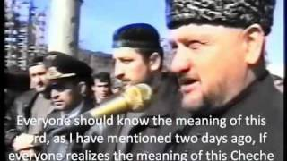 Akhmad Kadyrov is a traitor of the Chechen nation