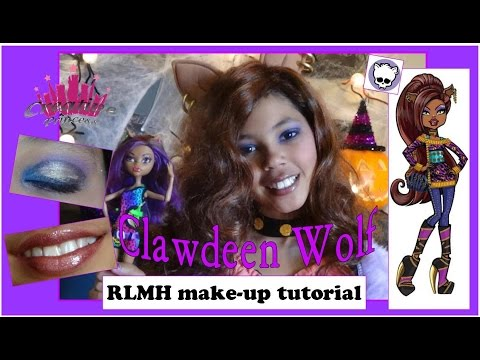 Real Live Monster High   Clawdeen Wolf Make-up Tutorial - Creative Princess