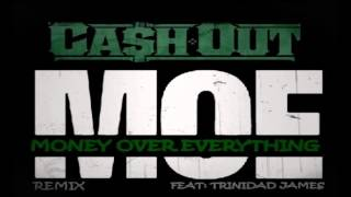 Watch Cash Out Moe remix Ft Trinidad Jame video