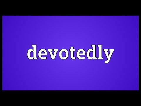 Header of devotedly