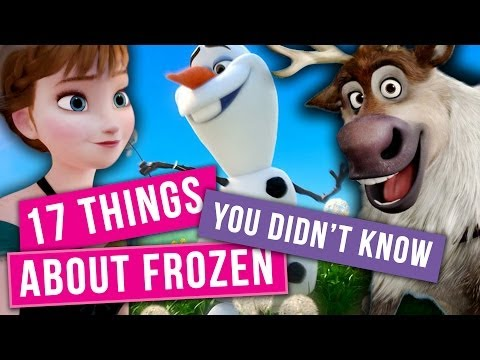 17 Things You Didn't Know About Disney's Frozen