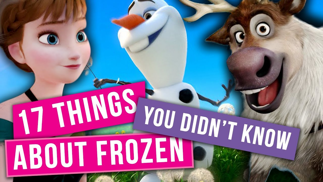 17 things you didn 39 t know about disney 39 s frozen youtube. Black Bedroom Furniture Sets. Home Design Ideas