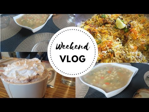 Must have Chicken Noodle Soup for Winter! Chicken Biryani Weekend Vlog!