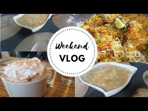 Must have Chicken Noodle Soup for Winter! Chicken Biryani Weekend Vlog!