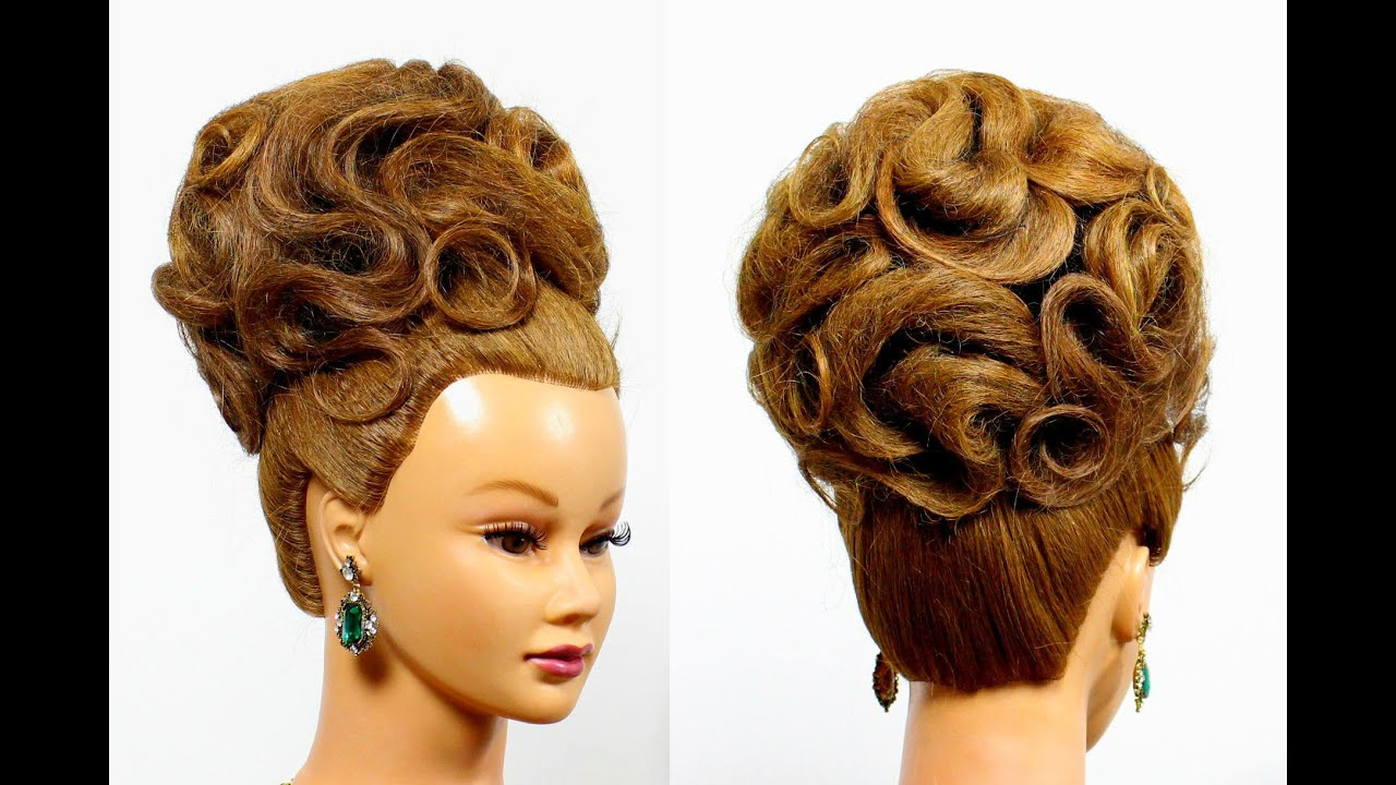 Аксессуары для волос для вечерней прически