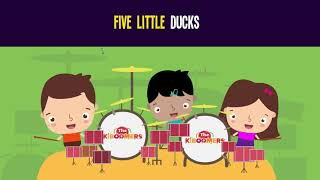Five Little Ducks Song for Kids ¦ Animal Songs for Children ¦ The Kiboomers
