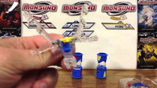 Wave 3 Monsuno Toy Opening -  #33 Morph Boost and #34 Morph Airswitch Core-Tech