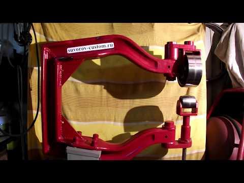 Английское колесо - обзор (самодельное оборудование кастомайзера).