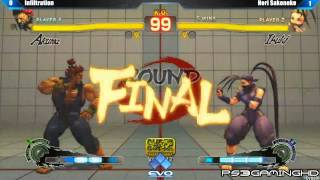EVO 2K13 SSF4 AE Top 8 Infiltration (Akuma) vs Sako (Ibuki) [HD]