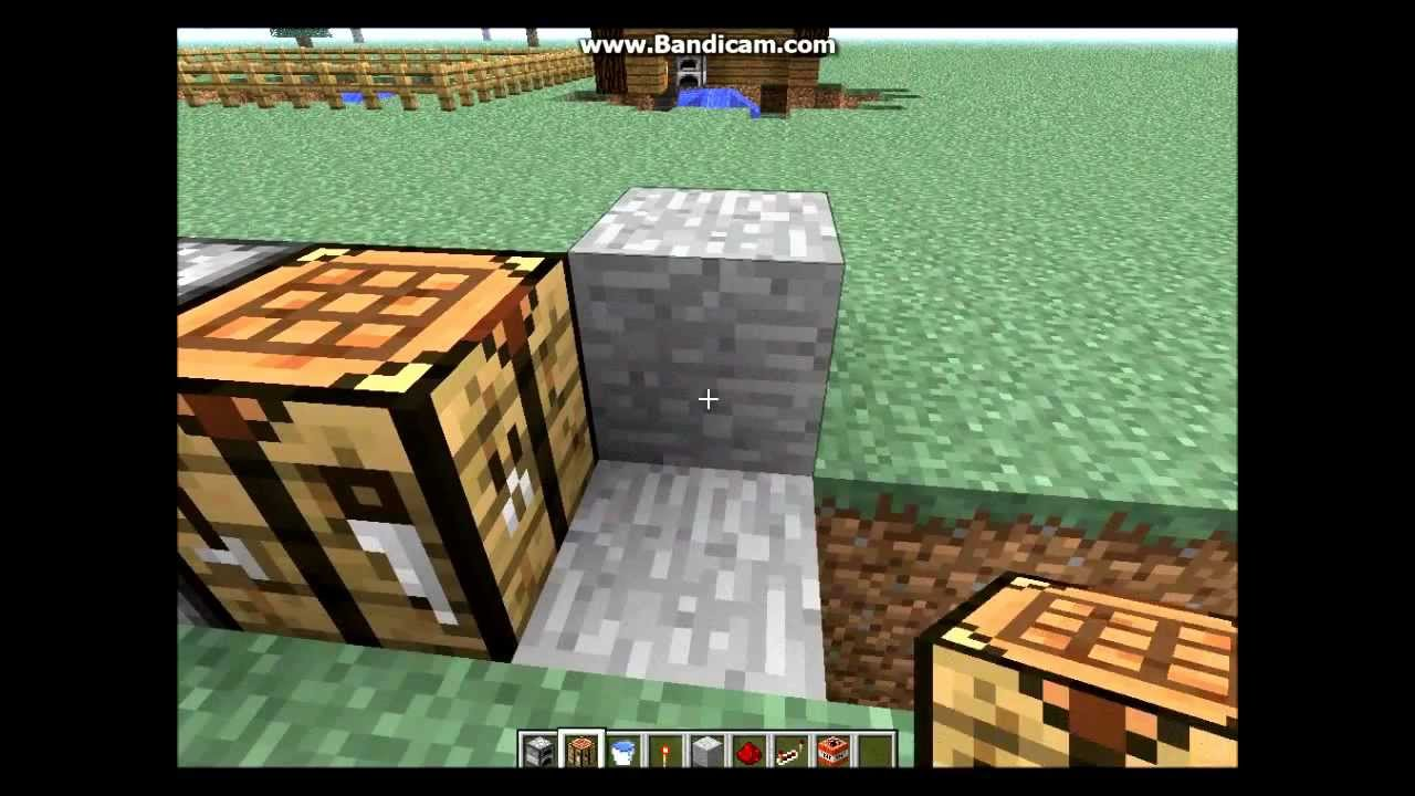 how to make a furnace trap in minecraft pe