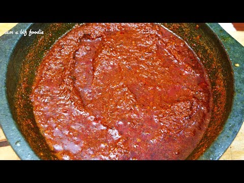 Tomato pickle.!||| Tomato pickle recipe