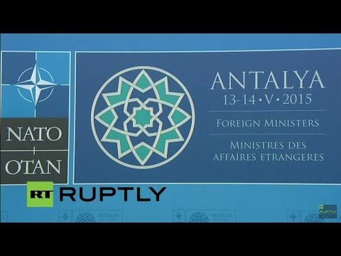 LIVE: NATO Foreign Ministers meeting in Antalya - Press conference