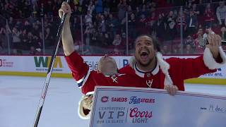 Canadiens fan wins $50,000 with unbelievable hockey shot