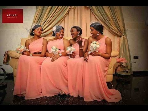 latest bridesmaid dress styles for nigerian amp black