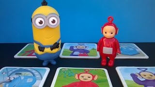 Teletubbies Po vs. One of the Minions – Memory Game