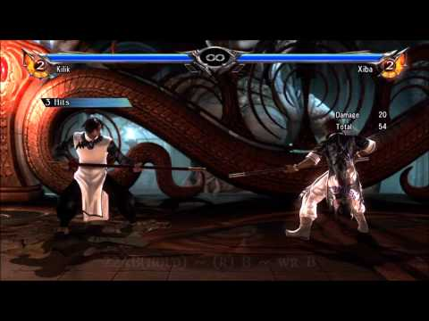 Soul Calibur 5: Kilik Combo Video (Xiba Combos)