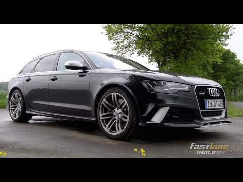 2015 Audi Rs6 Avant Review - Fast Lane Daily video