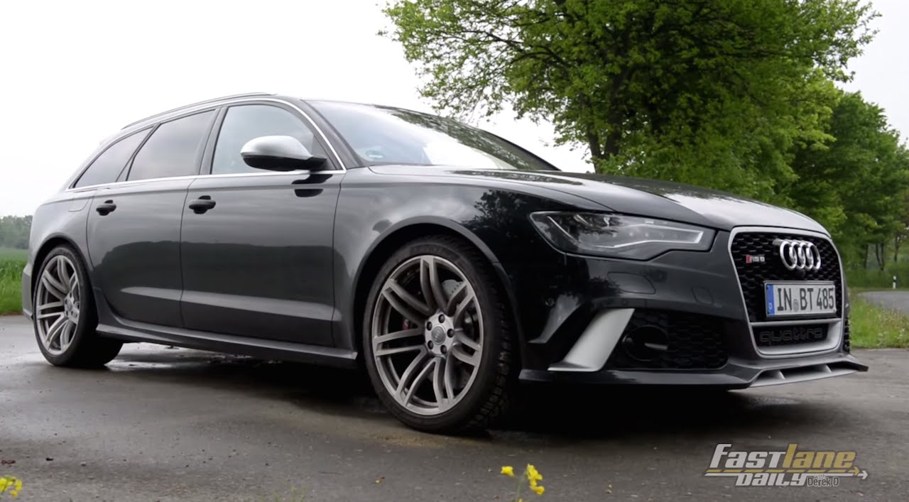 2015 560 Hp Audi Rs6 Avant Review Fast Lane Daily Youtube