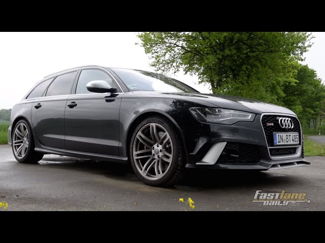 2015 560-HP Audi RS6 Avant Review - Fast Lane Daily