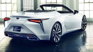 2020 Lexus LC Convertible - interior Exterior (FIRST LOOK)