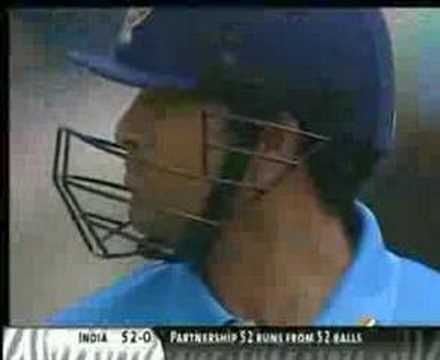 Sachin Tendulkar - shot of lifetime