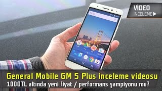 "Yeni Fiyat/Performans telefonu ""GM 5 Plus video inceleme"""