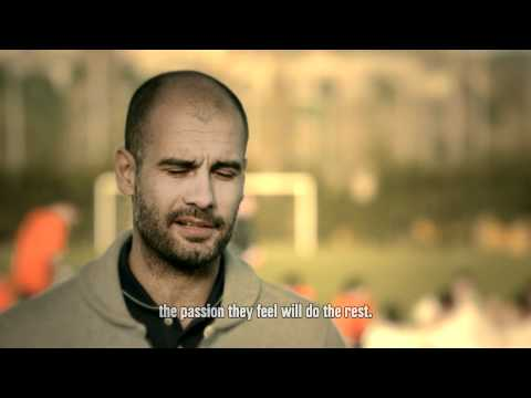 Pep Guardiola on Nike's 'The Chance', La Masia and Managing FC Barcelona