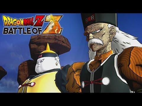 Dragon Ball Z: Battle of Z - Part 9 (A Future Saiyan, The Red Ribbon Army!, #17 & #18 Awakens)