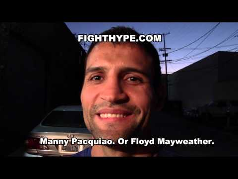 LUIS CARLOS ABREGU SAYS HE CAN KO MANNY PACQUIAO